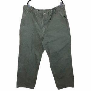 Green Carhartt Carpenter Jeans 44X32